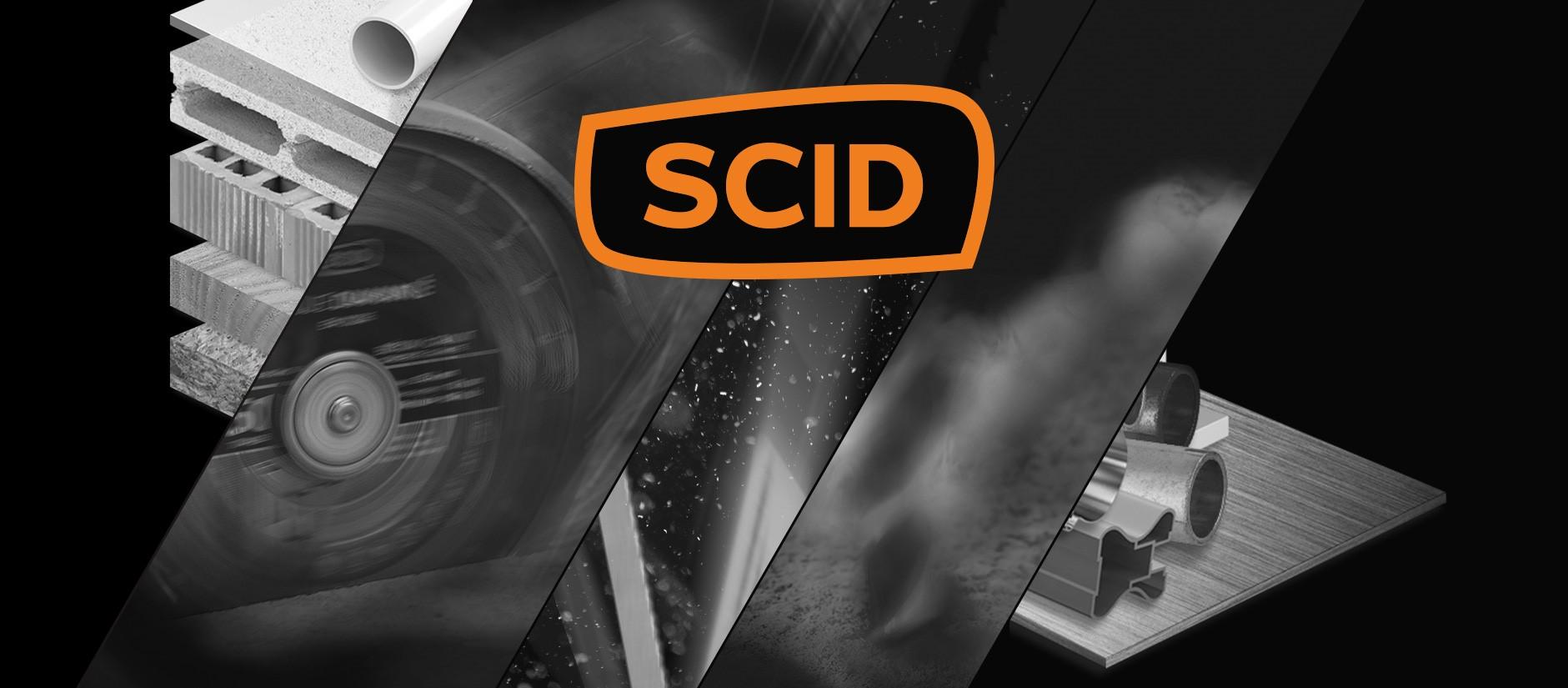 SCID, Disques diamantés, forets, patins, abrasifs