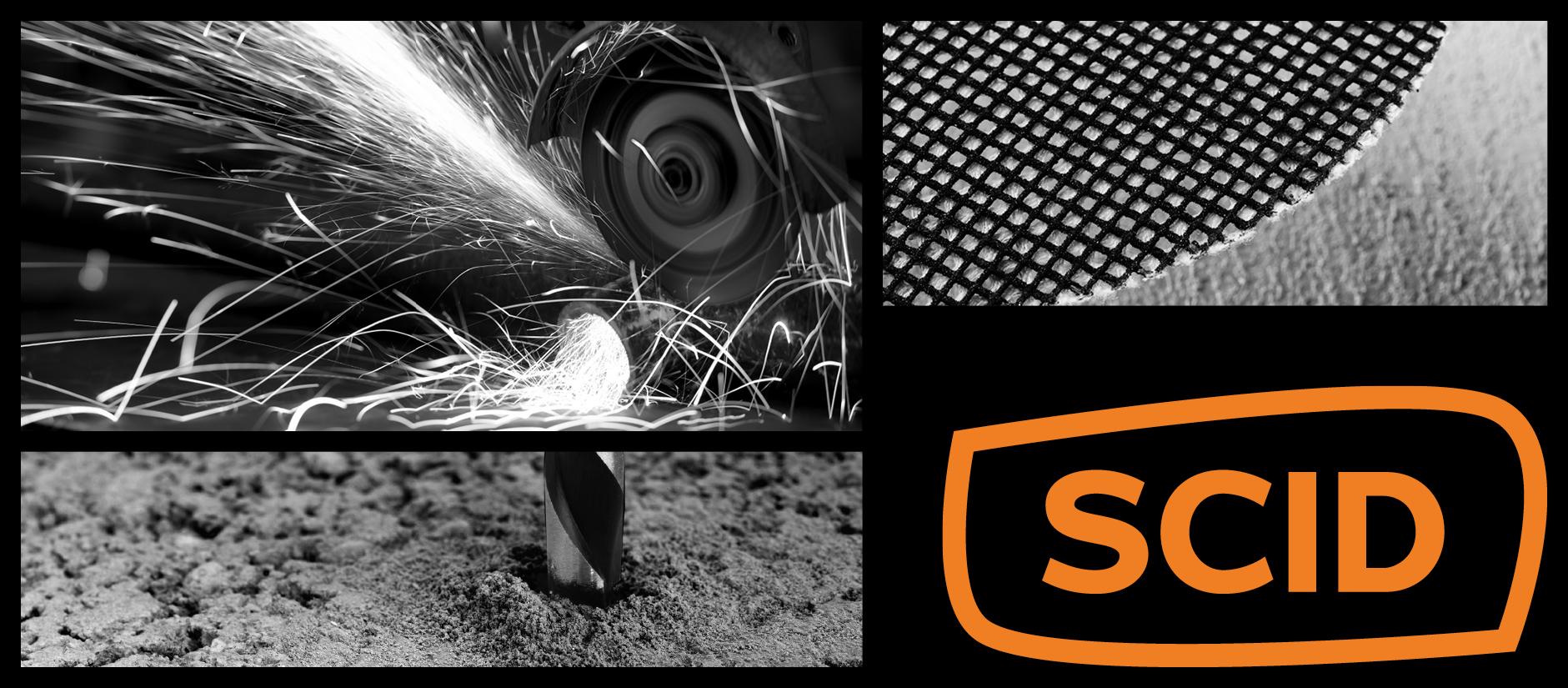 SCID - Disques diamantés performants, Forets résistants et des patins robustes